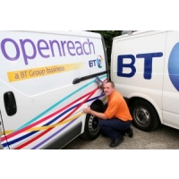 BT delivers fibre broadband to first Corby homes