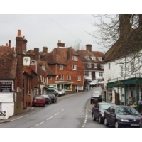 Broadband celebrations in Long Melford